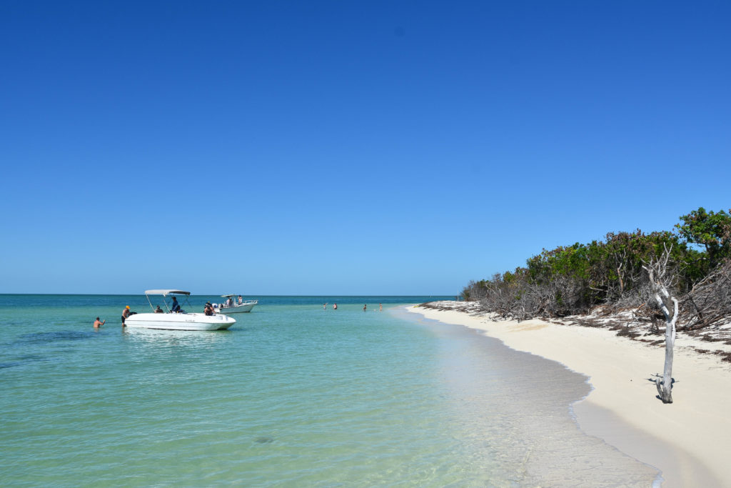 key west has some astonished sandbars in the backcountry and they are a great place to hangout for the afternoon.