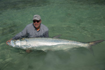 We get some monster tarpon here in the Florida Keys!