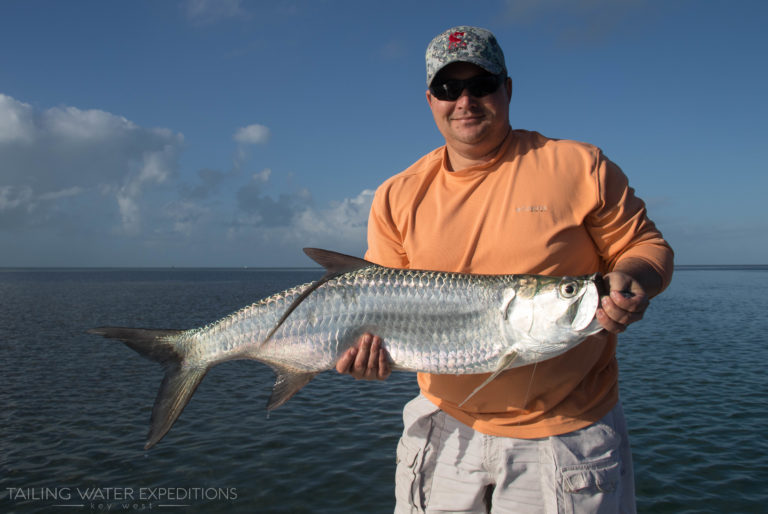 It is always tarpon season here in the Keys!