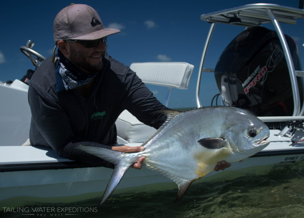 Sight fishing for permit on the flats in one of the most challenging things to do in saltwater fishing. But in turn one of the most rewarding.