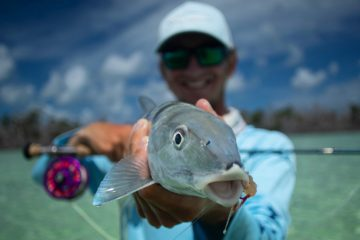 Catching bonefish on fly is a blast and the Florida Keys are one of the best places in the world to do it!