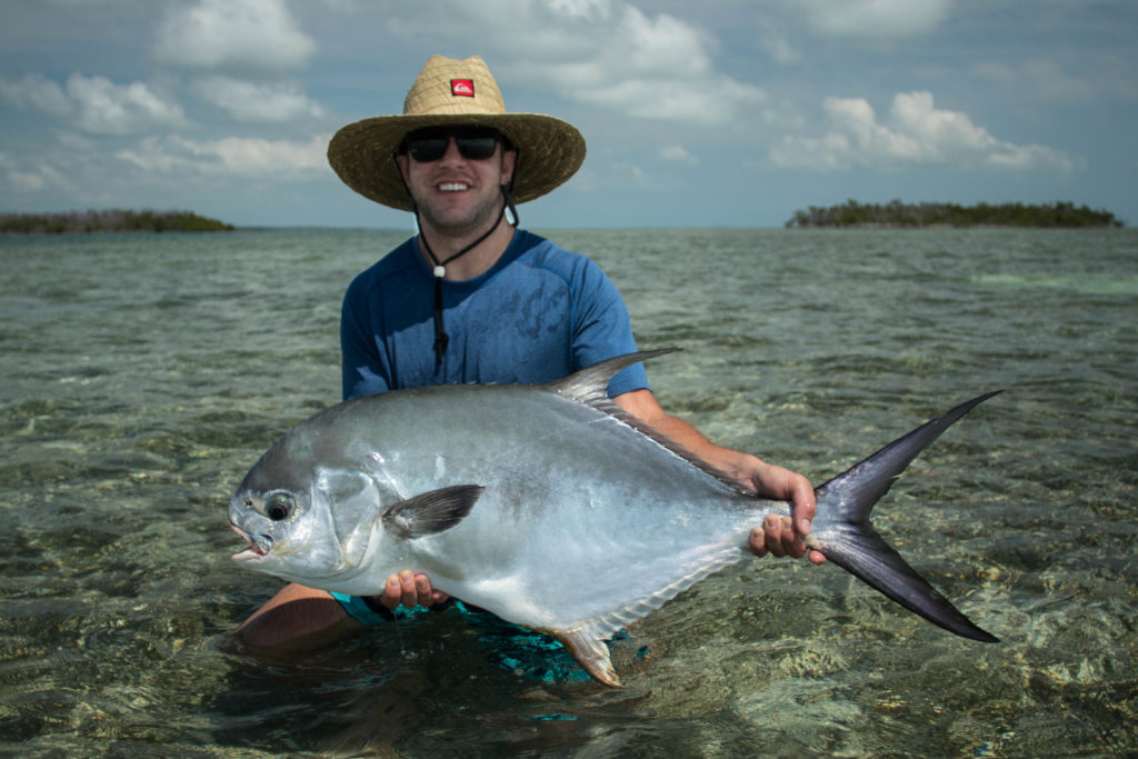 Sight fishing permit on the flats and in the backcountry off of Key West